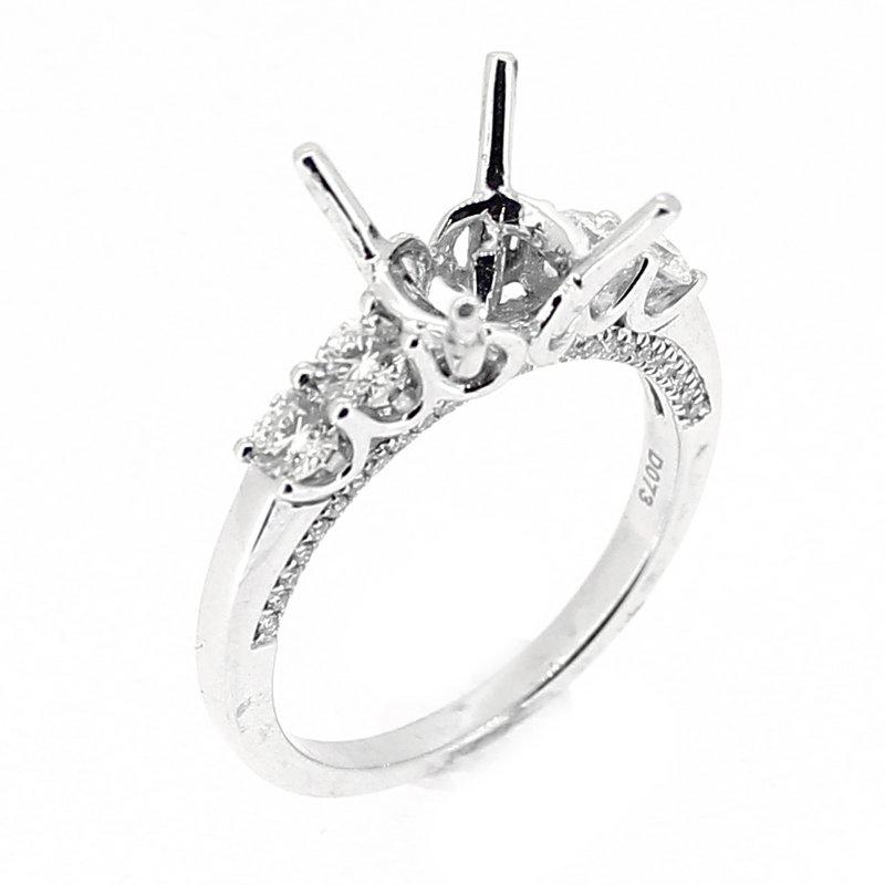 Decor Engagement Ring Mounting