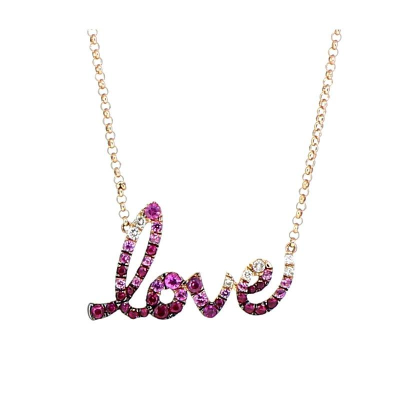 Decor 'Love' Necklace