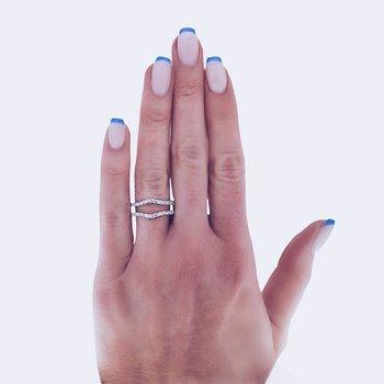 Wrap Around Diamond Ring Guard