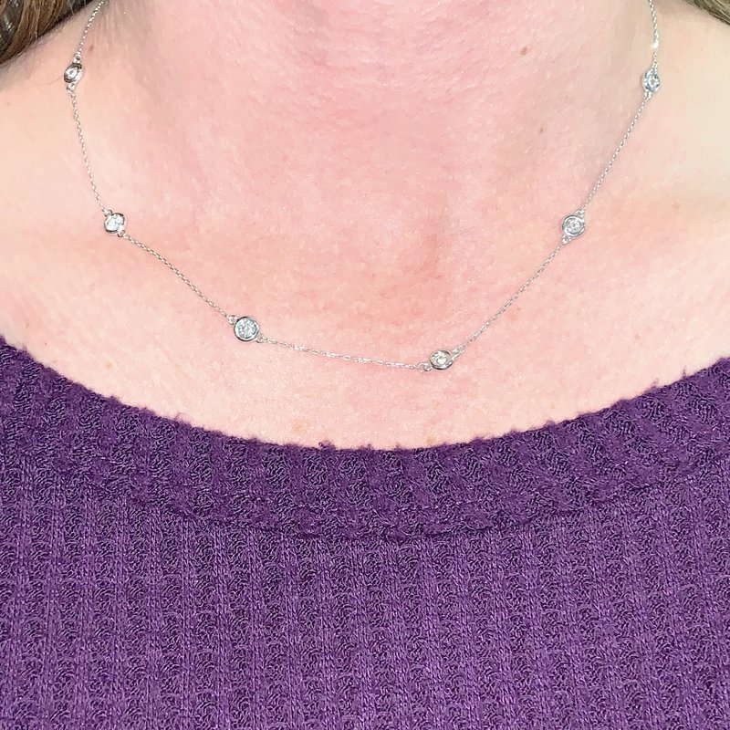 Decor Diamonds by the Yard Necklace
