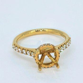 Diamond Collar Ring Mounting