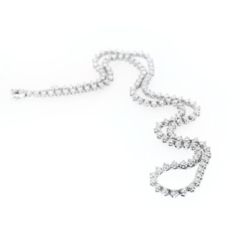 Decor 6.00ctw Diamond Tennis Necklace