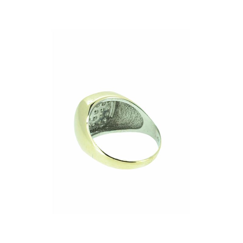Decor Gent's Diamond Cluster Ring