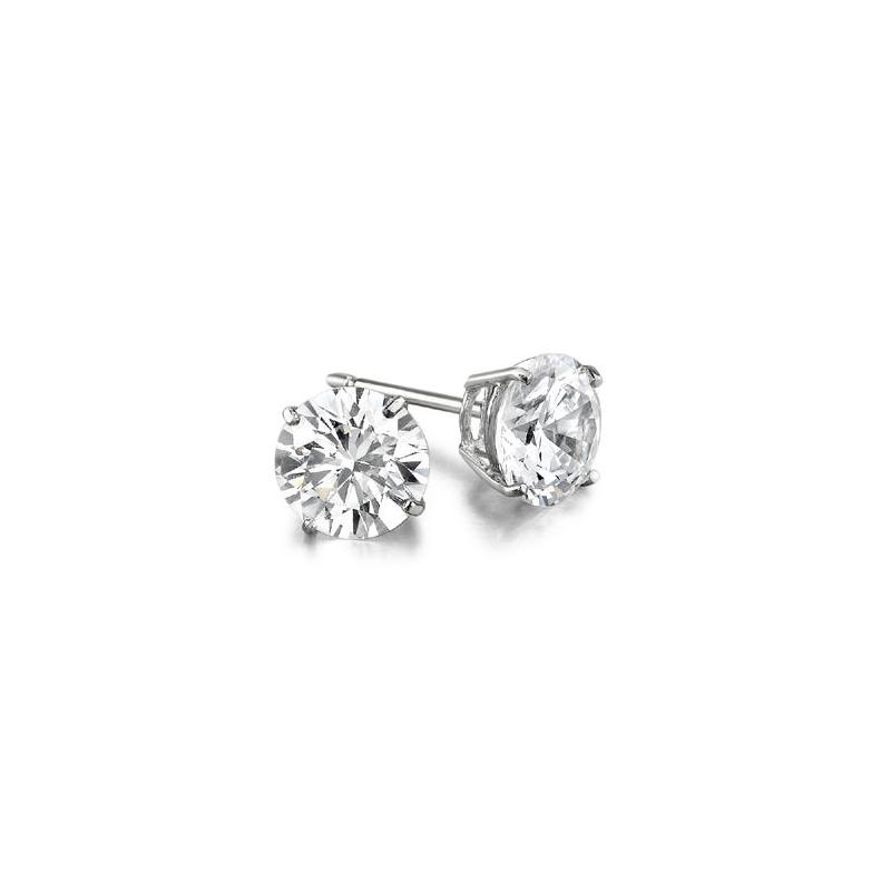 Decor .27ct Diamond Stud Earrings