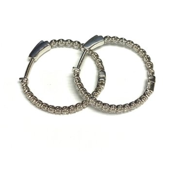 1.00ct Diamond Inside Out Hoops