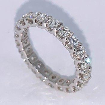 2.01ctw Diamond Eternity Wedding Band