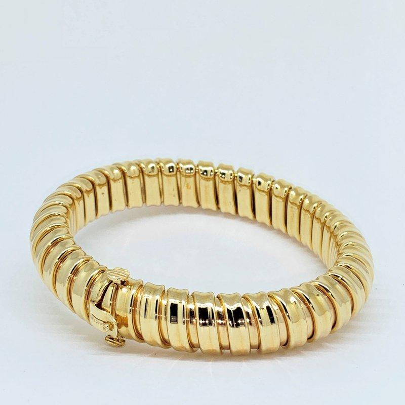 Decor Gold Coil Bangle Bracelet