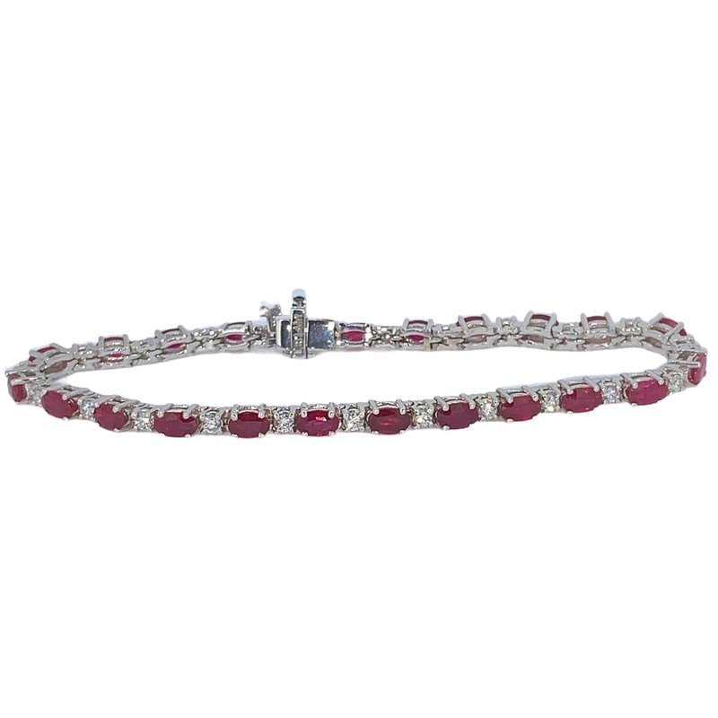 Decor Ruby & Diamond Bracelet