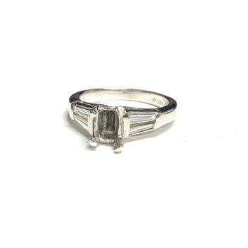 Baguette Diamond Ring Mounting