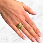 Decor Vintage Flexible Ring