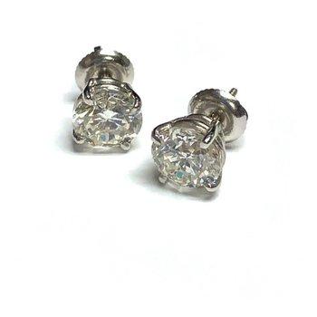 3.01ct Diamond Studs