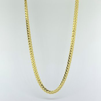 """22"""" Cuban Link Gold Chain Necklace"""