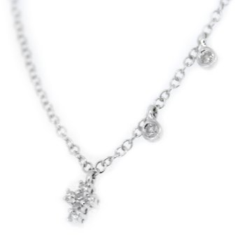 Small Diamond Cross Necklace from Meira T