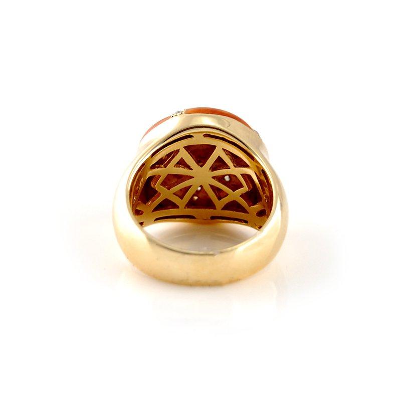 Haggai Enamel & Diamond Ring