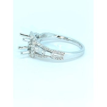 Tapered Baguette Diamond Ring Mounting