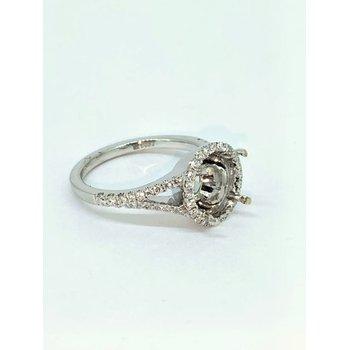 Split Shank Diamond Ring Mounting