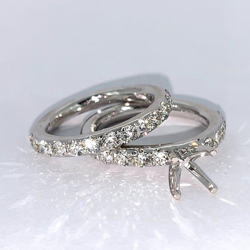 Decor 1.86ct Diamond Ring Mounting Set