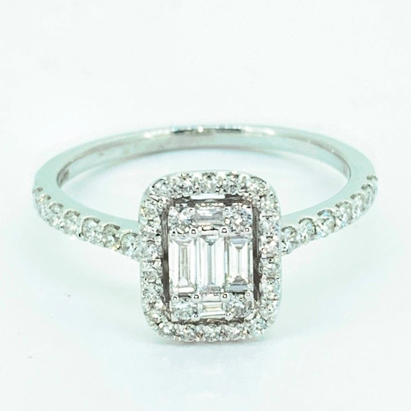 Decor Diamond Cluster Ring