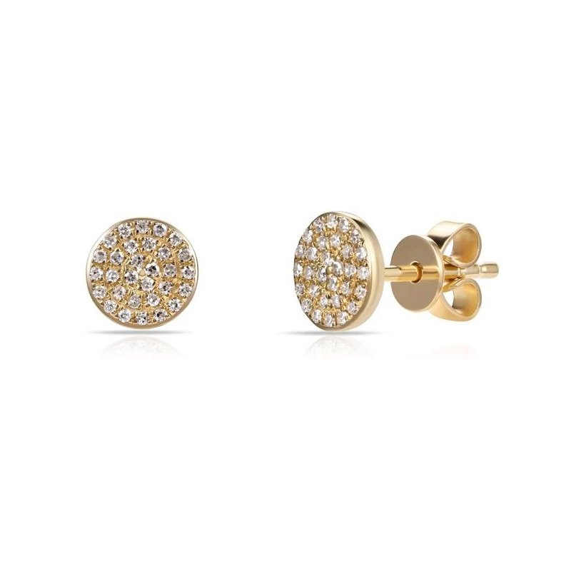 Sabrina Pave Diamond Earrings