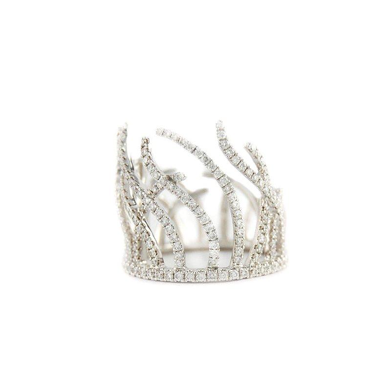 Decor Diamond Fashion Ring