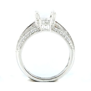 Elegant Engagement Ring Mounting