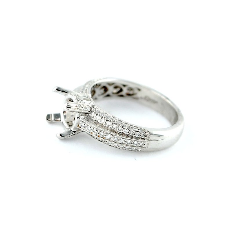 Decor Elegant Engagement Ring Mounting