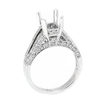 Double Row Diamond Ring Mounting