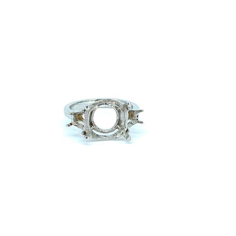 Siera Trapezoid Diamond Ring Mounting