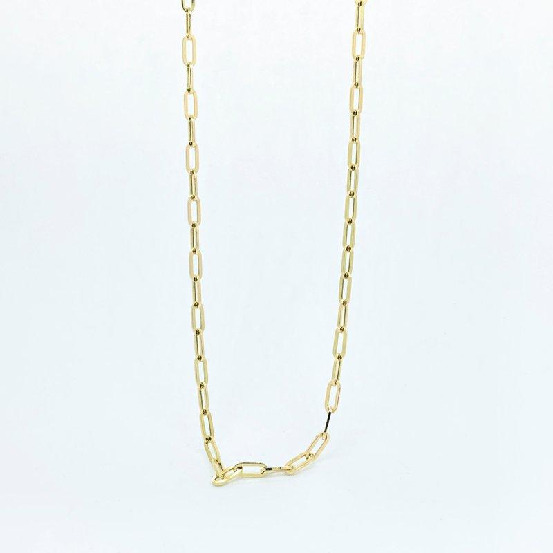 Decor Paperclip Chain Necklace