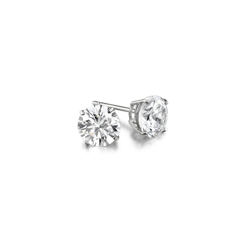 Decor 1.29ctw Diamond Stud Earrings