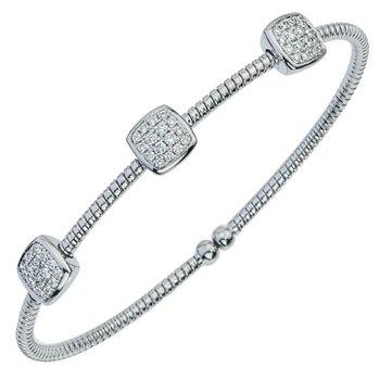 Pave Diamond Cuff Bracelet