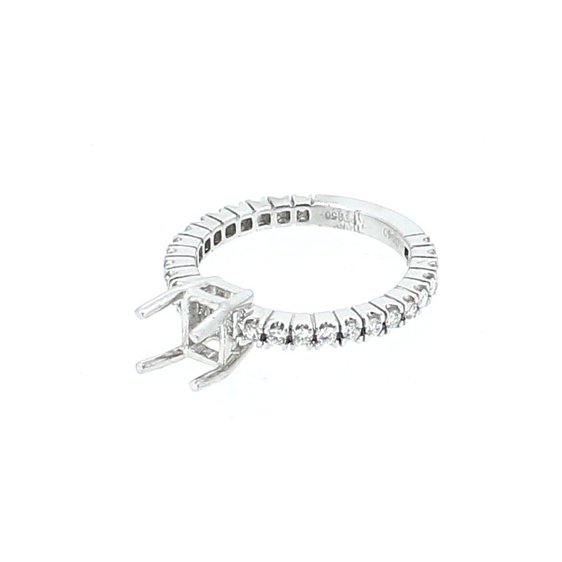 Decor Platinum Diamond Ring Mounting