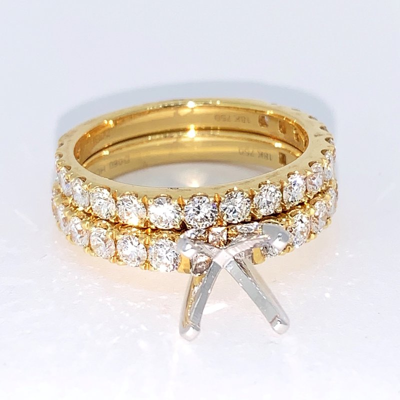 Decor Diamond Ring Mounting & Band
