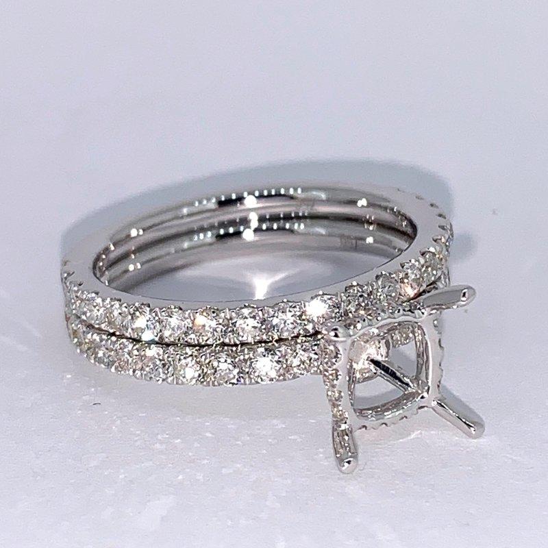 Decor Diamond Collar Wedding Set Mounting