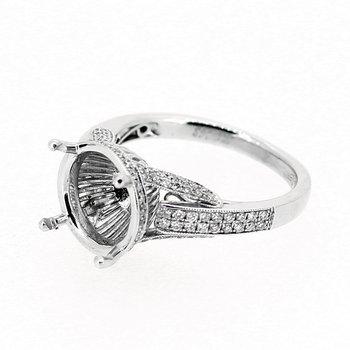 Pave Diamond Ring Mounting