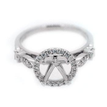 Halo Diamond Ring Mounting
