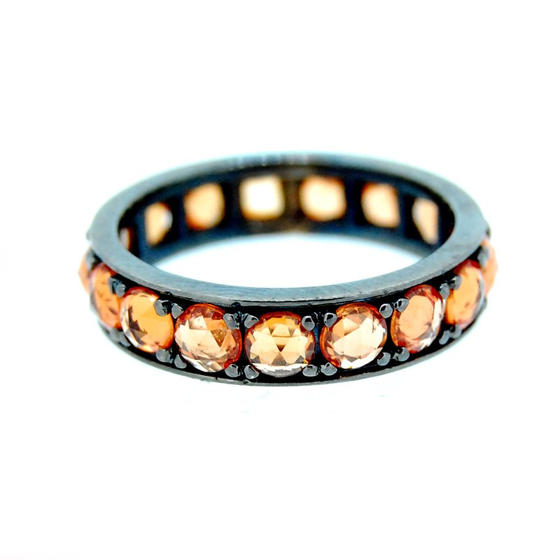 Decor Orange Sapphire Band