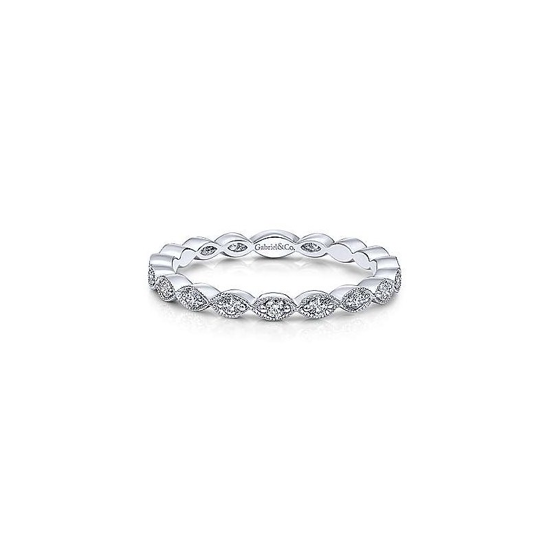 Gabriel & Co. -  IN-STORE COLLECTION Marquis Station Stackable Ring