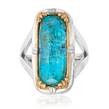 Chrysocolla Fashion Ring
