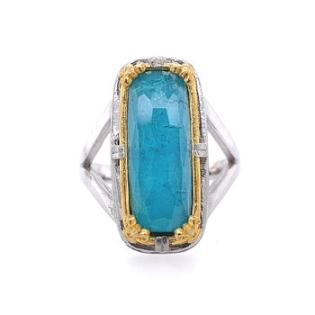 Chrysocolla Fashion Ring