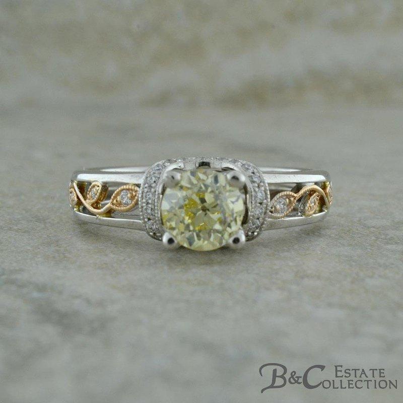 B&C Estate Collection Simon G Vintage Inspired Ring