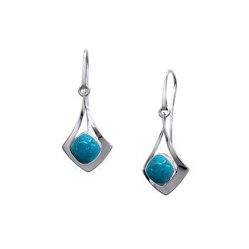 S/S Free Flight Turquoise Earrings