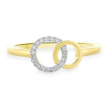 Diamond Circles Ring