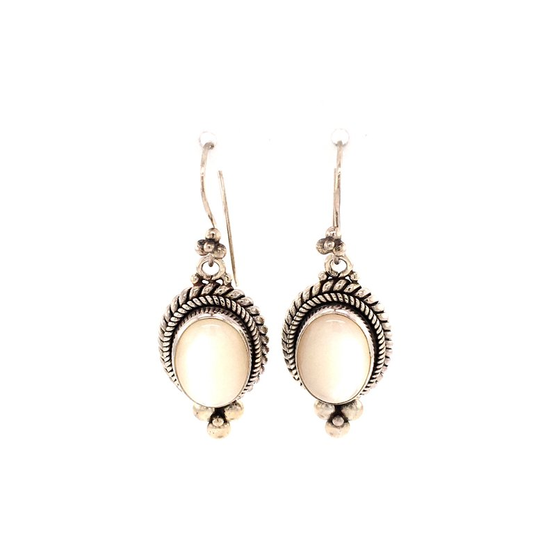 B&C Estate Collection Mother of Pearl Earrings