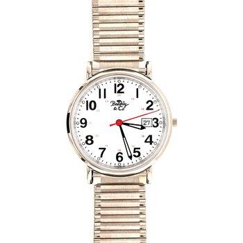 White Stretch Band Watch