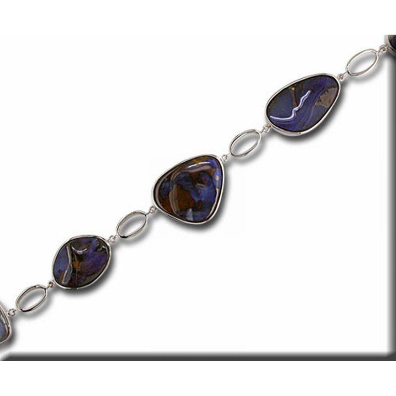 Parlé Australian Opal Doublet Bracelet