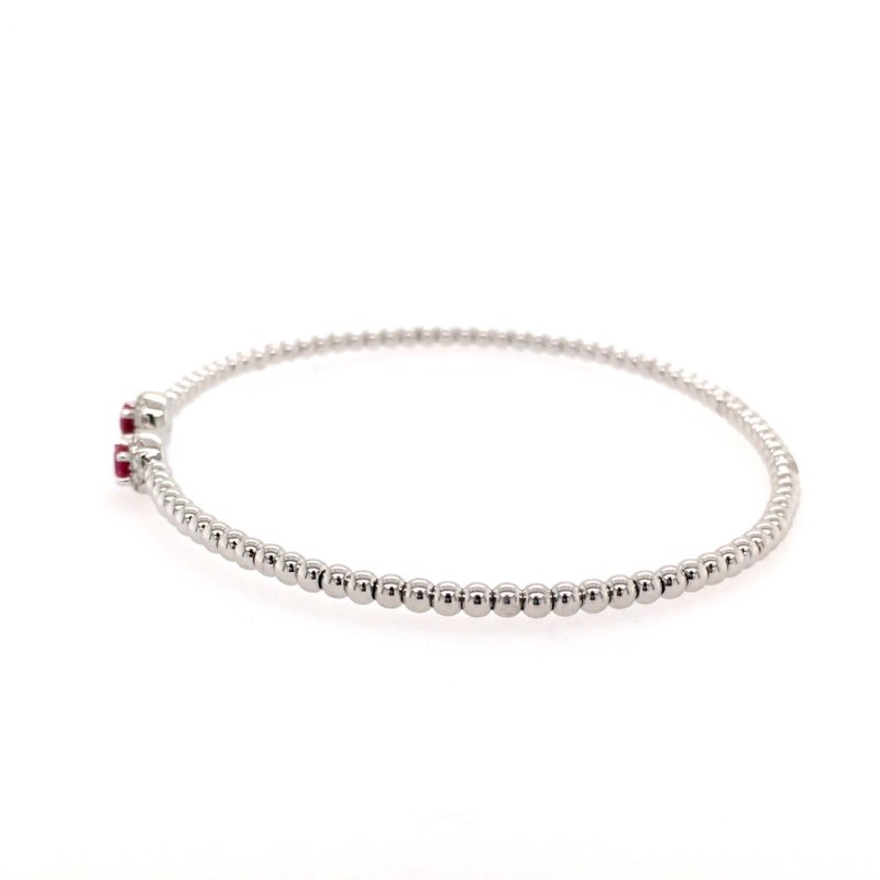 Gabriel & Co. -  IN-STORE COLLECTION Ruby and Diamond Bangle