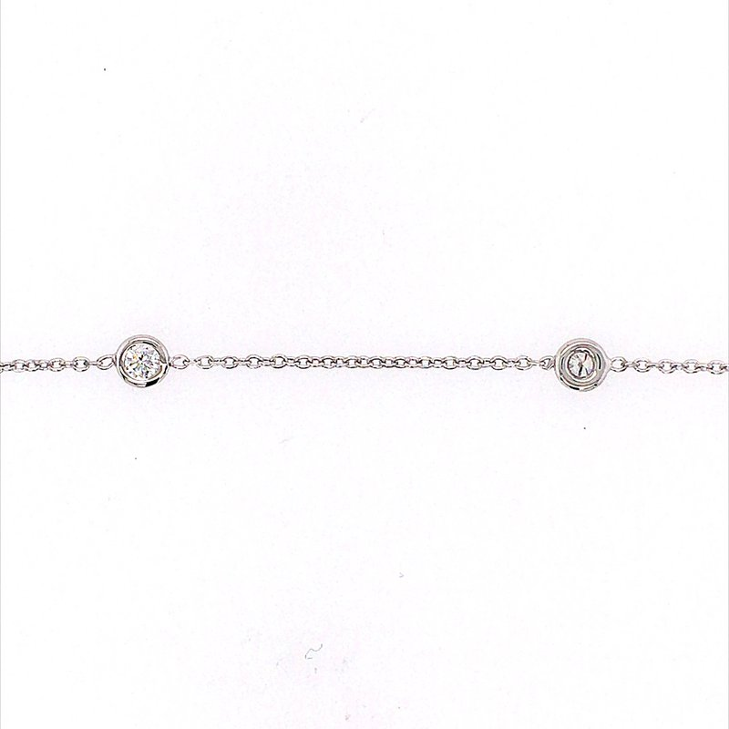 B&C Collections Diamond Station Necklace