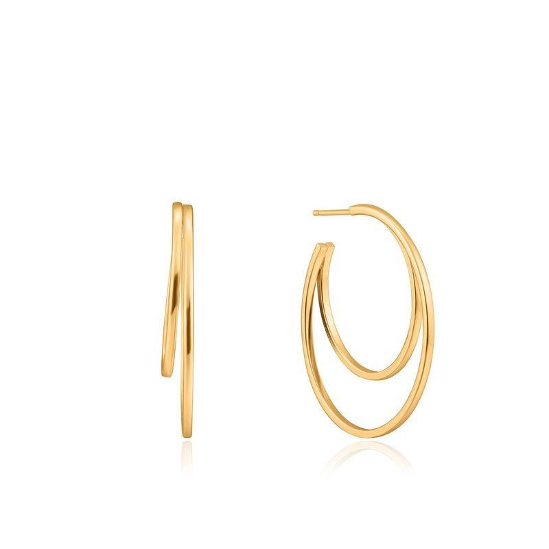 Ania Haie Crescent Hoop Earrings