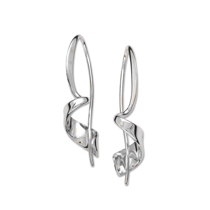 E. L. Designs Corkscrew Earrings